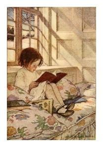 blog pic girl reading