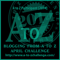 a to z challenge blog occasion