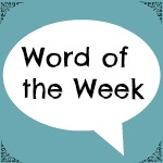 Word of the week reminiscing
