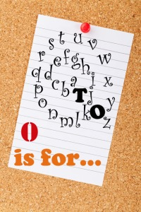 a to z challenge blog occasion rhyme o