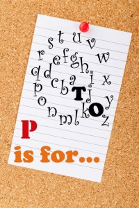 a to z challenge blog paper