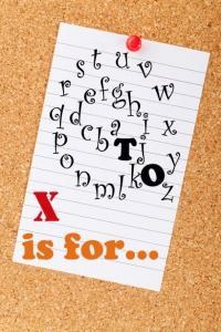 a to z challenge x blog