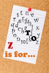 a to z challenge zen blog