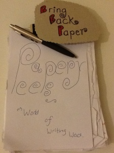 Bring back paper papery peep